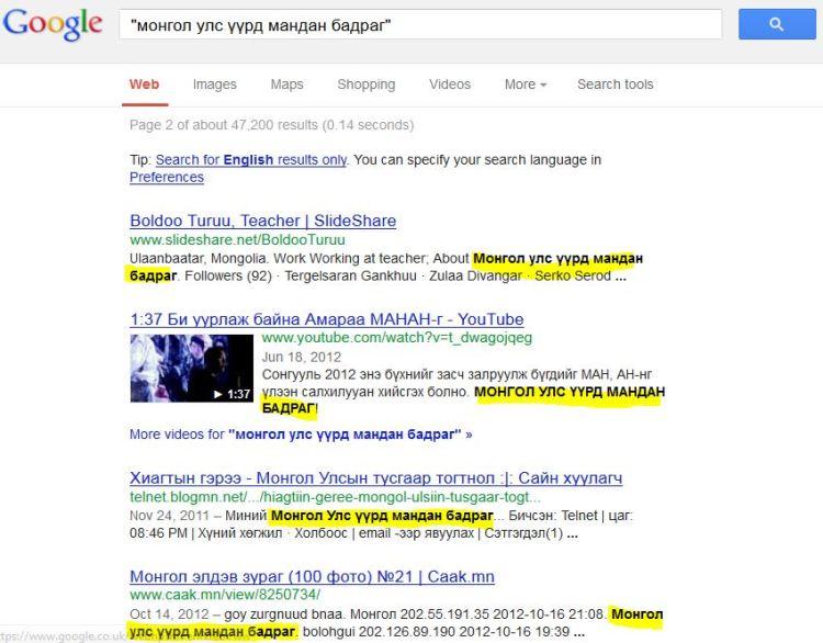 hariult.net google хайлт үр дүнтэй ашигтай хийх хариулт нет